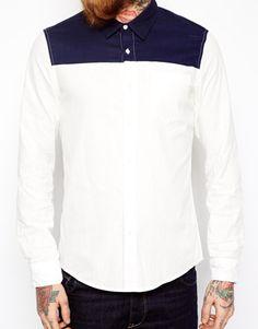 Nice colour combination men shirt
