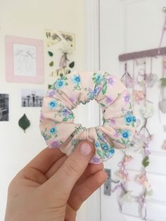Handmade pattered scrunchies by isabellesbyIsabelle Scrunchies, Etsy Seller, Floral Prints, Unique Jewelry, Handmade Gifts, Pink, Crafts, Kid Craft Gifts, Floral Patterns