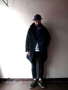 ワークハウス Street Look, Street Style, Mens Fashion Week, Cool Style, My Style, Hipster Fashion, Gentleman Style, Mens Clothing Styles, Kyoto