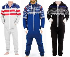 Adult Unisex Printed Jumpsuit set One piece non footed pajamas playsuit  Bodysuit 22e12ad37