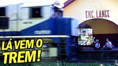 ★ OLHA O TREM PASSANDO! PIUUUIIII! ★ Vlog de Bordo 74 - Morretes, Pico d...