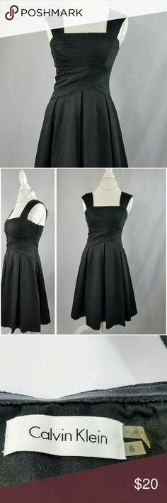 Calvin Klein black dress formal/work size 6 Perfect for work Calvin Klein Dresses Midi