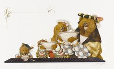 Goldilocks and the Three Bears by Genady Spirin