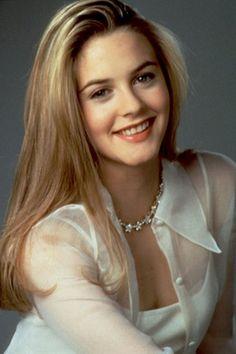 Alicia Silverstone. Dark blonde color.