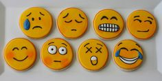 Emotion cookies for party.