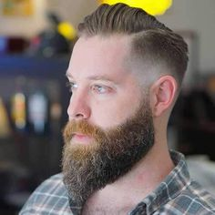 Comb Over with Beard