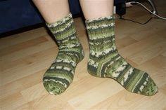 Green Novita Nalle striped socks