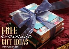 No cash?  No worries!  Free, personal homemade gift ideas #christmas #gift #frugal #DIY