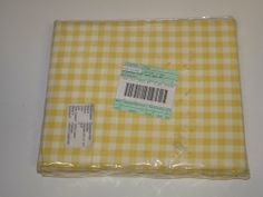 Yellow and White Checker Board Top Sheet for Kids Bed by No Name Brand. $12.95. Yellow and white checkerboard pattern
