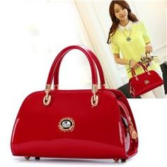 Korean Style Modern Special Pure Color Lady's Handbags