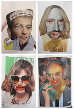 """Search Results for """"Portrait"""" – Art Room Mess Face Collage, Collage Portrait, Collage Art, Picasso Collage, Surrealist Collage, Magazine Collage, Magazine Art, Surealism Art, Collages"""