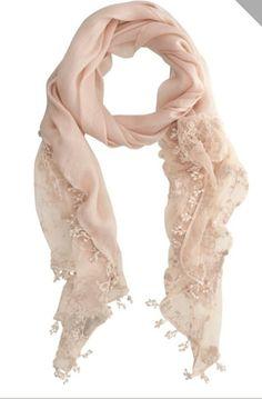 Mint Velvet Nude Lace Scarf-House of Fraser 1d08b3641b