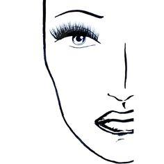 Black Magic Lashes Supernatural False Eyelashes ($25) ❤ liked on Polyvore featuring beauty products, makeup, eye makeup and false eyelashes