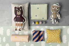 Plaid enfant Little Stripe / 80 x 100 cm - Ferm Living