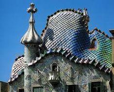 Cómo se hace un Trencadís? | BLOG de la Escuela de Mosaico:TrencadisBCN Gaudi, Empire State Building, Taj Mahal, Barcelona, Mosaic Art, Chile, Tiffany, Blog, Modernism