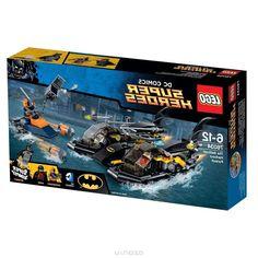 Lego Super Heroes Конструктор Погоня в бухте на Бэткатере 76034