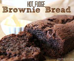 Hot Fudge Brownie Bread