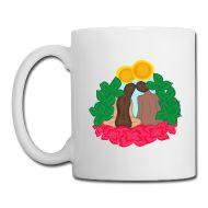 Paradise love Taza Taza, de ceramica, marca: groener