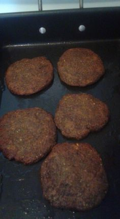 Alkaline Jerk Burgers.  1 cup minced black olives  1 cup minced baby potabello  1 minced green pepper  2 teaspoon of Allspice  2 teaspoon onion powder  1 teaspoon sage powder  1 cup spelt flour  1 pureed tomatillo  Cayenne and sea salt to taste Let sit in the refrigerator over night. Bake in grape seed oil at 350 for 10 minutes on each side.