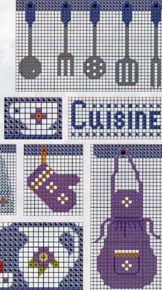 69 Ideas Patchwork Cocina Patrones For 2019 Free Cross Stitch Charts, Cross Stitch Love, Cross Stitch Alphabet, Wedding Cross Stitch Patterns, Cross Stitch Designs, Cross Stitching, Cross Stitch Embroidery, Cross Stitch Geometric, Crochet Chicken