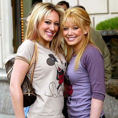 hilary and haylie duff