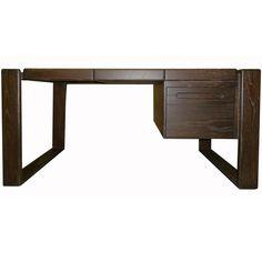 1stdibs | Lou Hodges Craftsman Desk in Cerused Oak. 5200