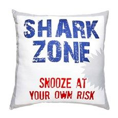 Kids Shark Print Sheet Sets - Christmas Tree Shops and That! - Home Decor, Furniture & Gifts Store Gift Store, Sign I, New Kids, Sheet Sets, Decorative Throw Pillows, Shark, Christmas Tree, Twin, Gifts