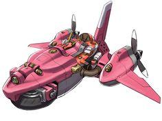 Aero Rider - Characters & Art - Solatorobo: Red The Hunter