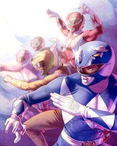 Power Rangers - Jamal Campbell