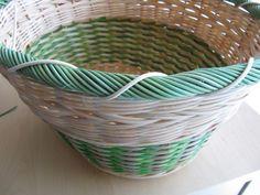 21) Obtáčená zavírka - Pedig a košíky Wicker Baskets, Pattern, Home Decor, Hampers, Interior Design, Model, Home Interior Design, Patterns, Pattern Print