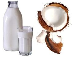 Beauty tips - Natural hair straightening with coconut milk and lemon