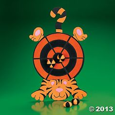 Tiger Dartboard - Oriental Trading