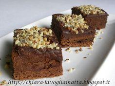 La Voglia Matta: Barrette lussuriose al cioccolato e nocciole