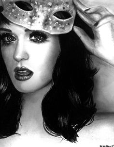 Katy Perry Drawing by maeve88