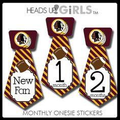 Washington Redskin Indians Football Korker Hair Bow for Baby Girls ...