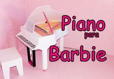 COMO FAZER PIANO DE EVA PARA BONECA BARBIE E MONSTER HIGH PARTE 1