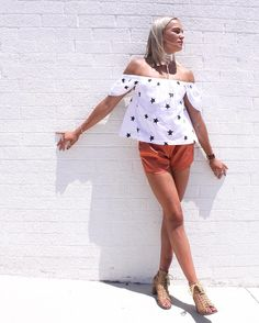 Outfit so good it hurts  Liz wears our super cute Zeke top  keeps it on trend with our Whisper shorts in Rust and our best selling Ariana choker in White  Link in bio | All orders posted Express #fashionbackrom . . . . . . #style #fashion #onlineshopping #fashionblogger #ootd #expressdelivery #sydneyfashionblogger #melbournefashionblogger #modellife #luxe #outfitgoals
