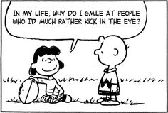 Peanuts Comics With Lyrics by The Smiths