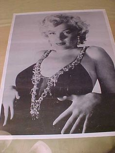 Vintage Photo of Marilyn Monroe 23x17.5 by MAYSVTG on Etsy, $29.95