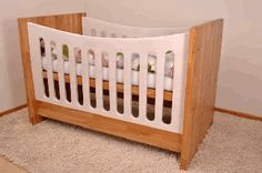 A wonderful crib from HOKIMÖ that grows with its users. Handmade in Germany, customized and available in different colors. It is indestructible and lasting for generations.