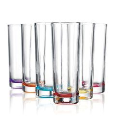 Take a look at this Color Bottom 3.5-Oz. Vodka Shot Glass Set on zulily today!
