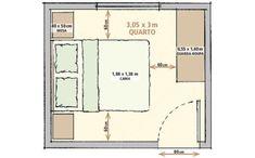 metragens mínimas de sala, quarto, cozinha e banheiro. Fotos publicadas na revista MINHA CASA.