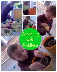Gardening with Toddlers