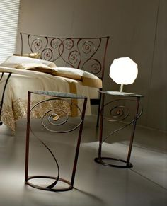 Wrought Iron accent in your home décor adds a timeless charm and amazes every time you walk in. Wrought iron can be used in outdoor furniture, garden and with elegant designs they add a class to bedrooms and dining rooms.