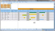 Image result for template staff holiday spreadsheet