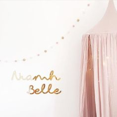 Beautiful pic of our gold mirror name signs by @mydearestdarlings don't forget there's 20% off in our shop today only with the code SHOPSMALL and tomorrow is the last day for ordering custom products this year!