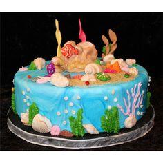 ocean cakes birthday | Birthday Cake Sea - CAKES