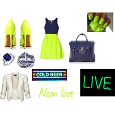 Neon, created by jbame on Polyvore