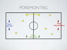 Physical Education Games - Pokemon Tag