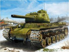 heavy tank KV-85 / czołg ciężki KW-85
